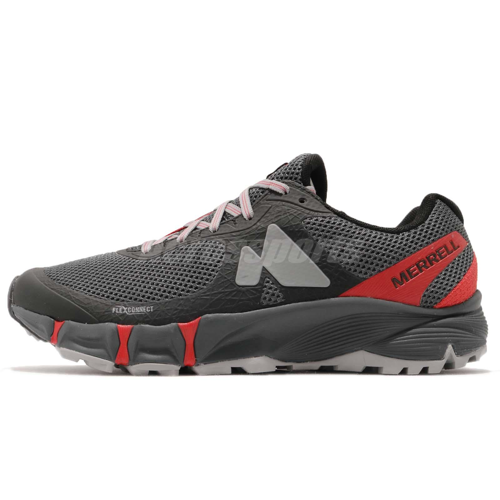 Black J37698 Merrell Agility Peak Flex Shoes Women/'s