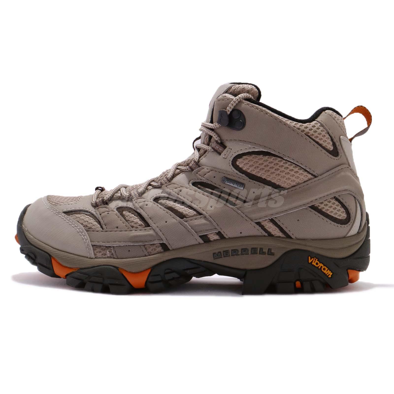 Merrell Shoes Moab 2 Mid GTX J12119 Brindle UK 7 yaF70