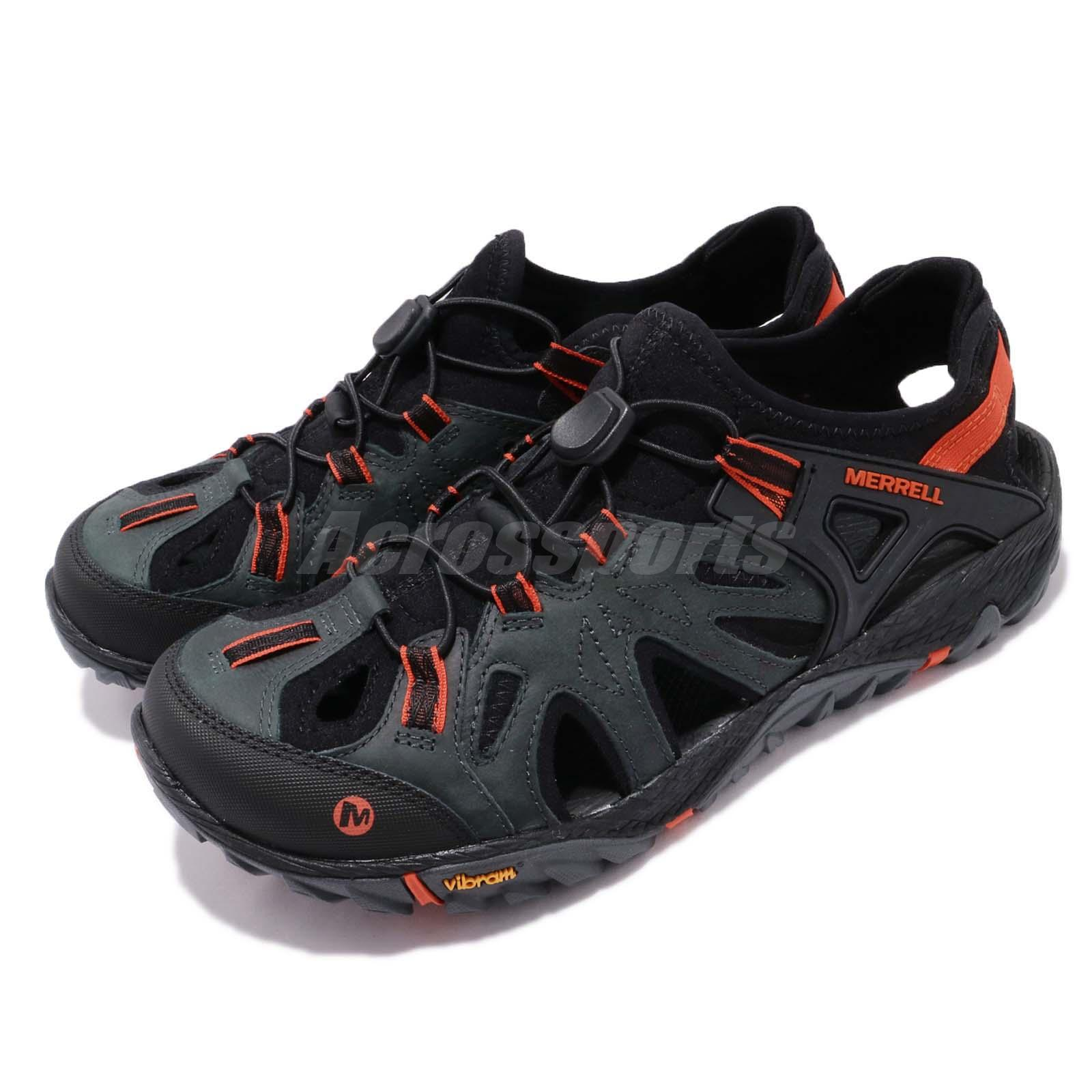0d504def90d Details about Merrell All Out Blaze Sieve Vibram Black Men Outdoors Hiking  Shoes Sandal J12647