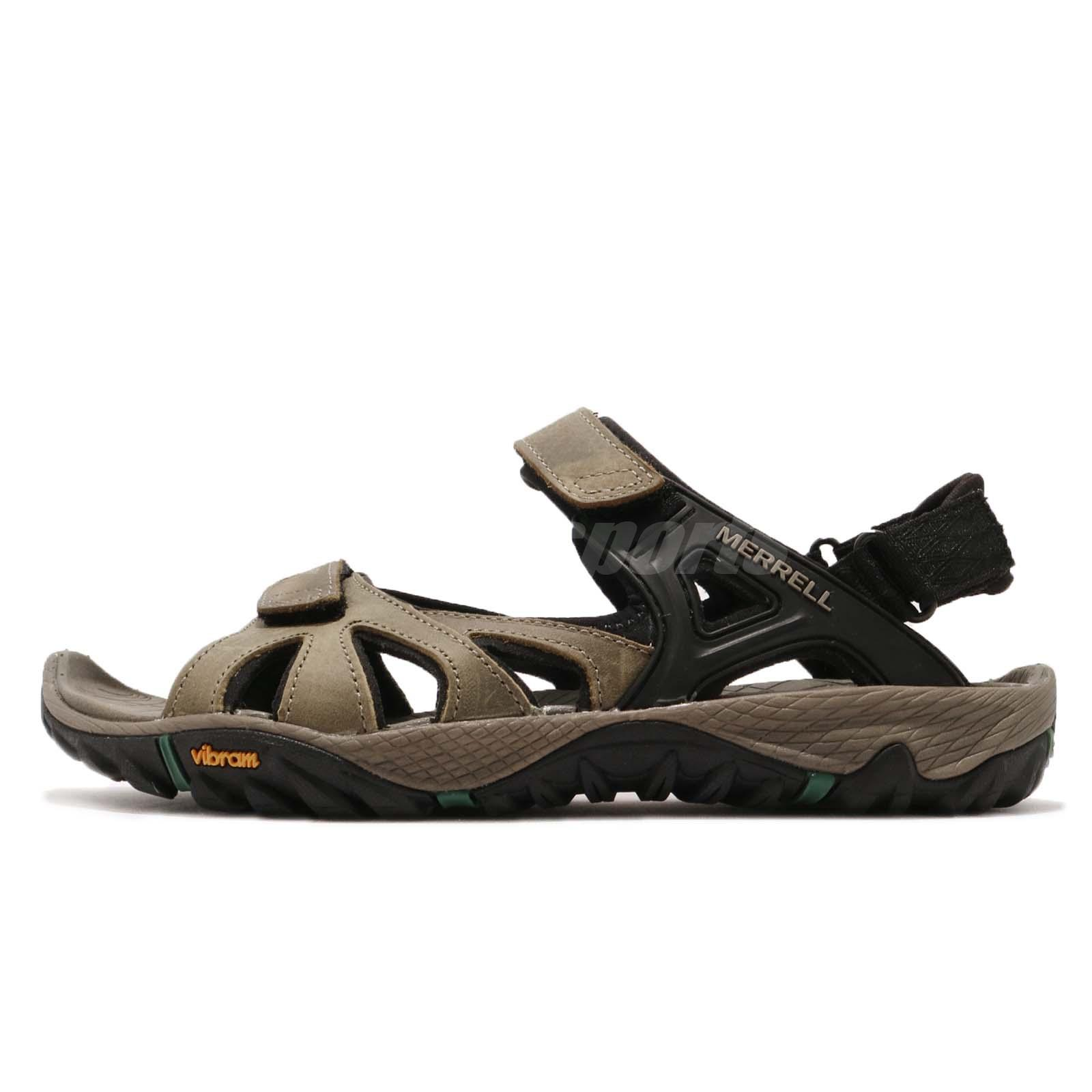 465c25c72e8f Merrell All Out Blaze Sieve Convertible Brown Black Men Sports Sandal J12649