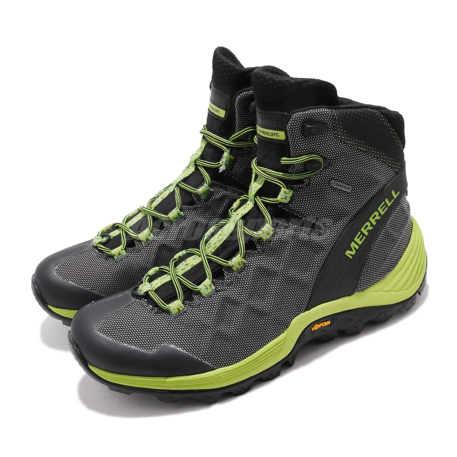 59f85bd3 Details about Merrell Thermo Rogue Mid GTX Gore-Tex Vibram Black Men  Outdoors Shoes J17009