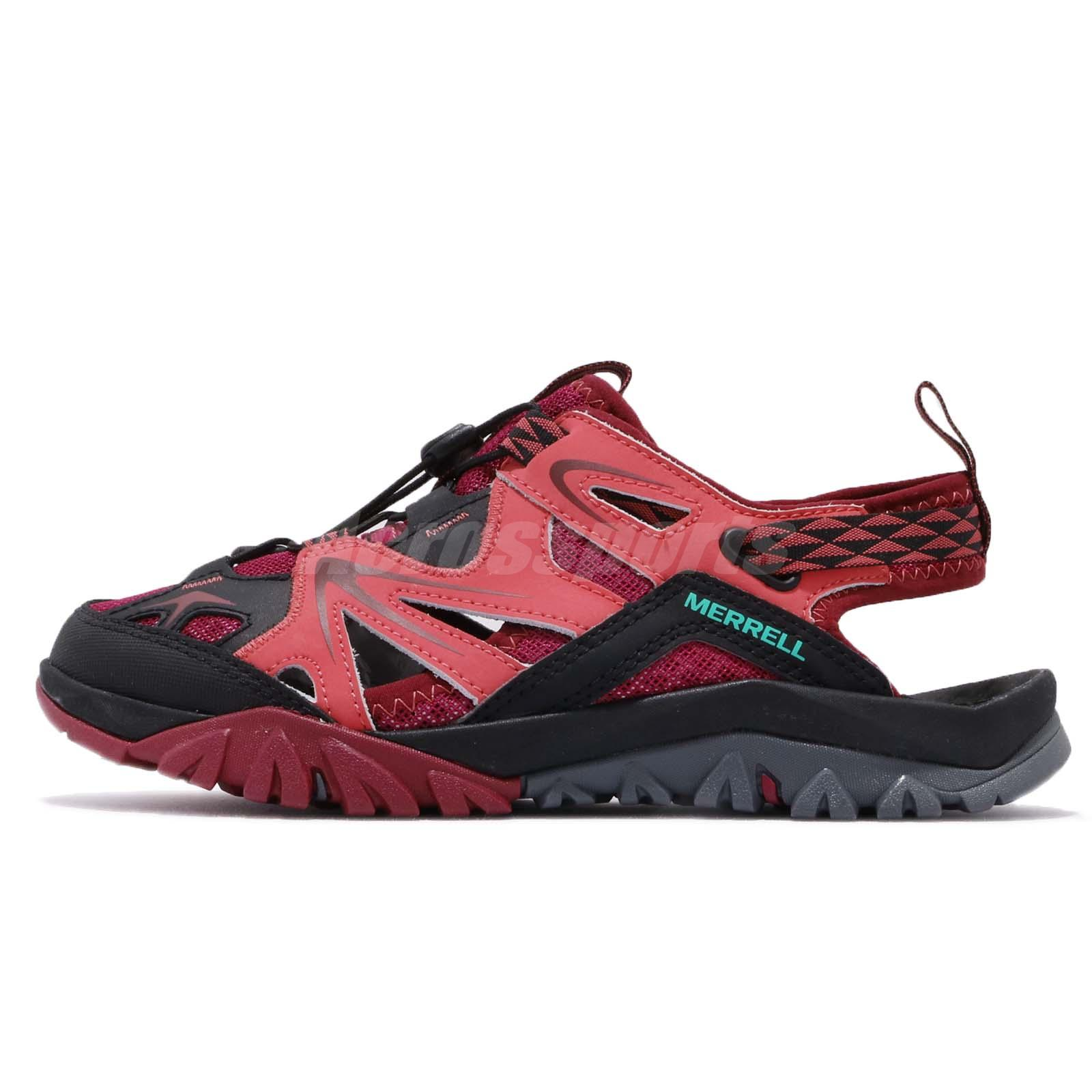 6cfdd71d5d68 Merrell Capra Rapid Sieve Bright Red Black Womens Outdoors Shoes Sandals  ML35500