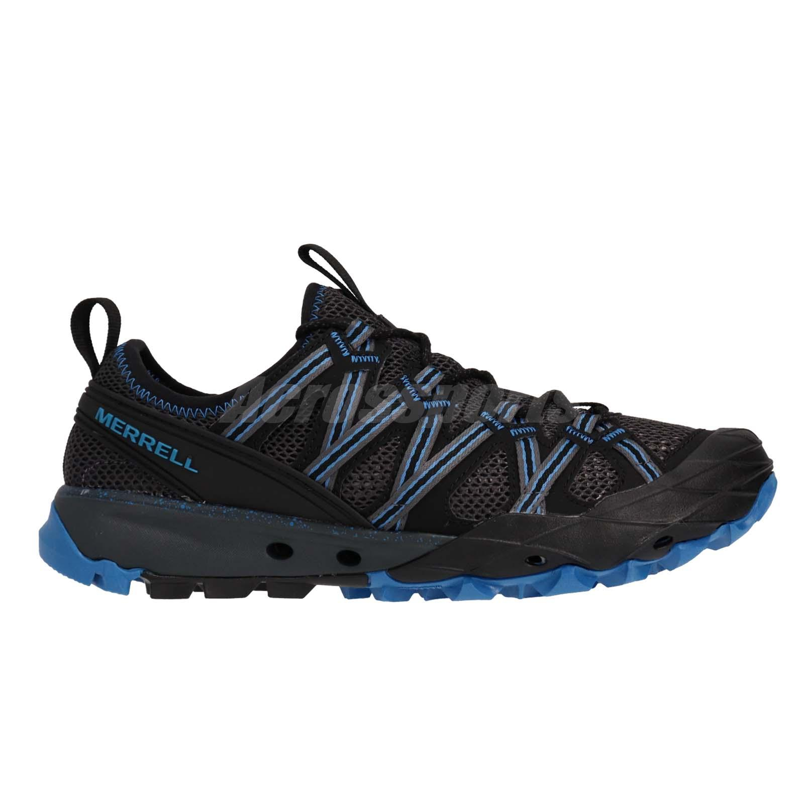 Merrell Choprock Vibram Black Blue Men Outdoors Hiking