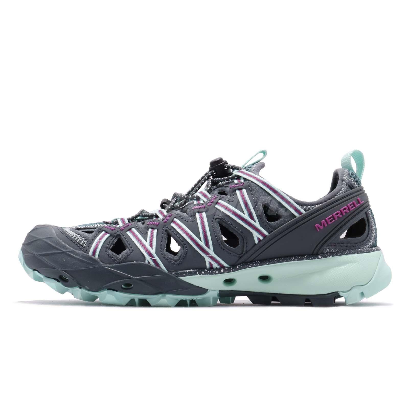 46f8e7860243 Merrell Choprock Shandal Blue Smoke Grey Purple Women Outdoors Water Shoe  J52770