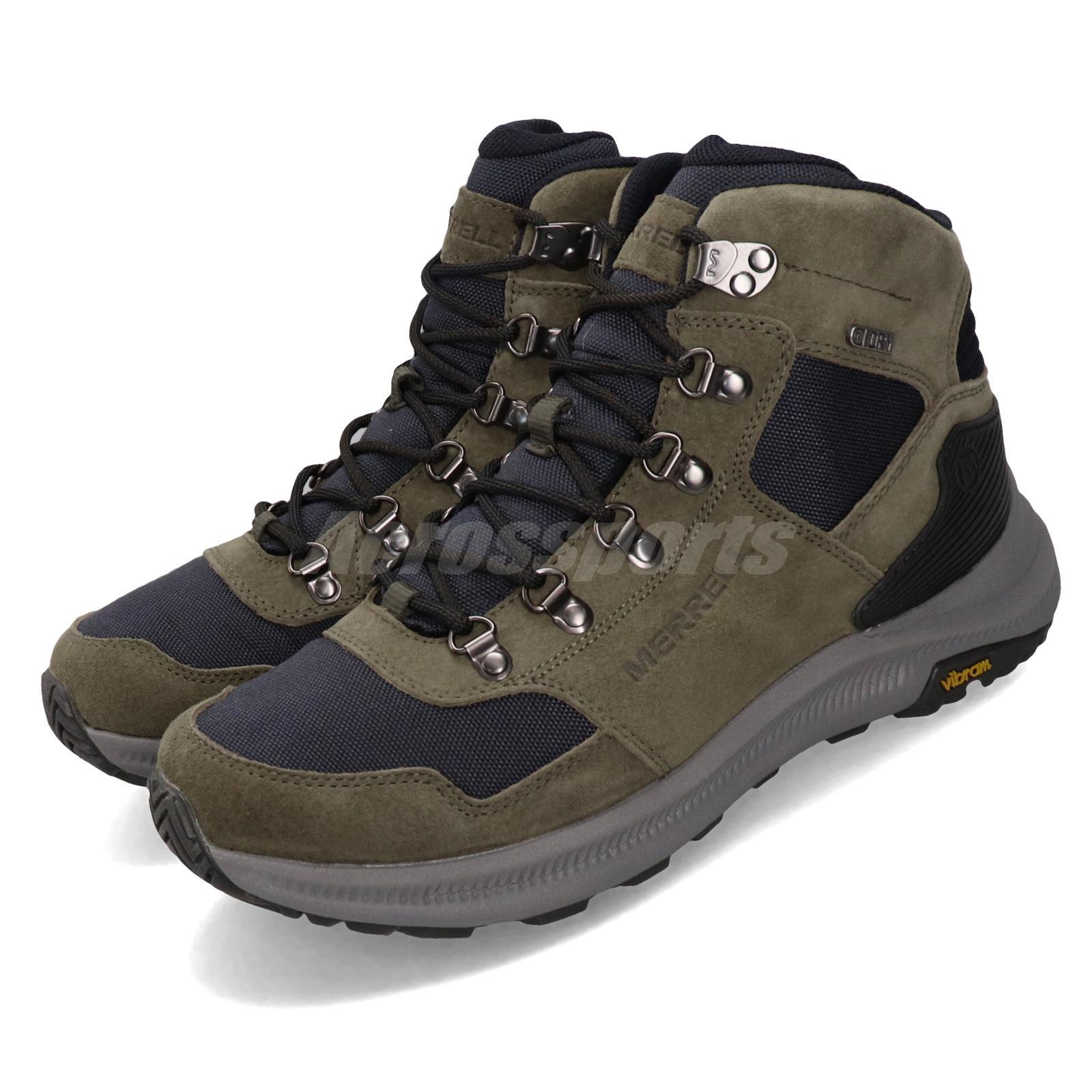 Merrell Mens Ontario 85 Mid Waterproof Hiking Shoe