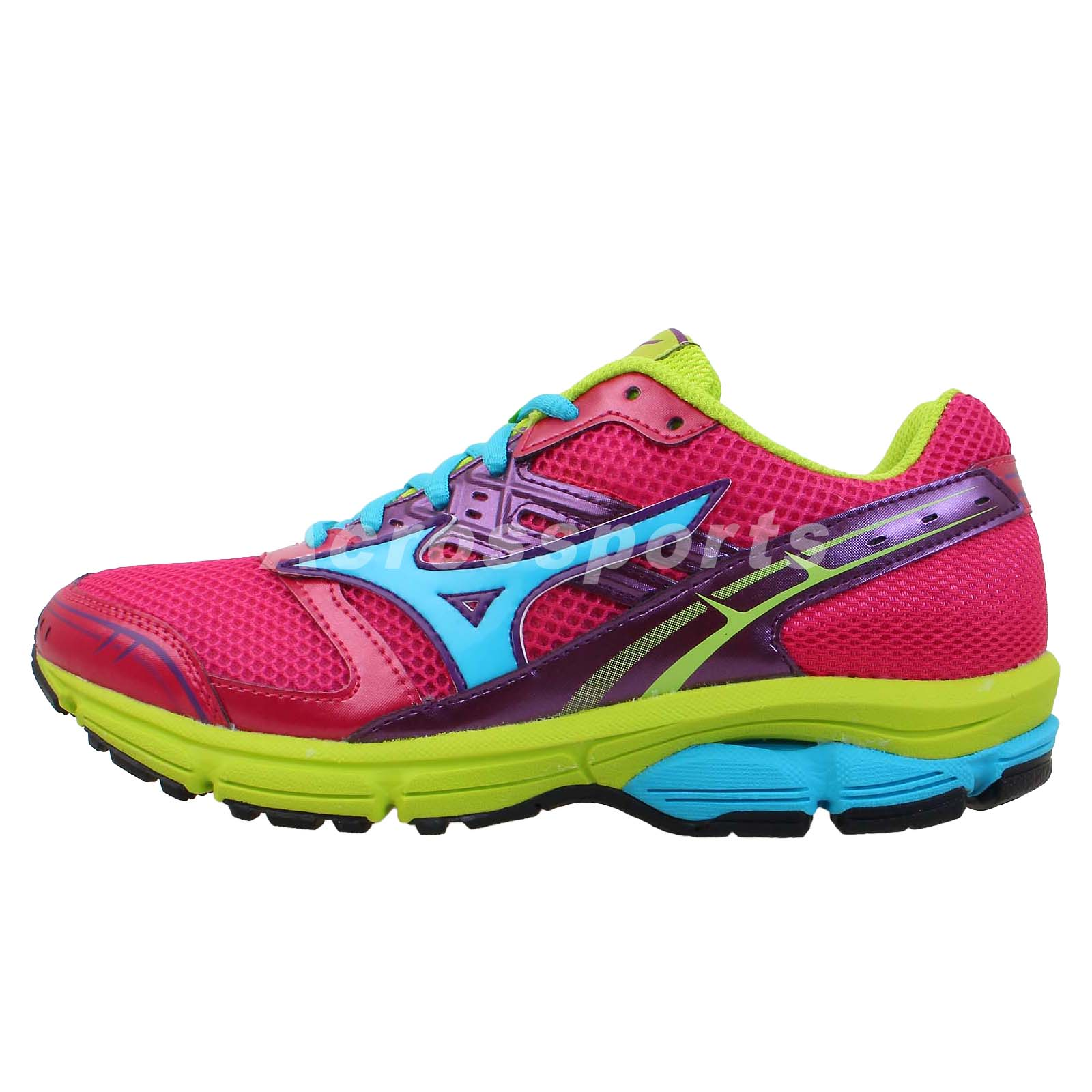 Rainbow Colored Running Shoes Women