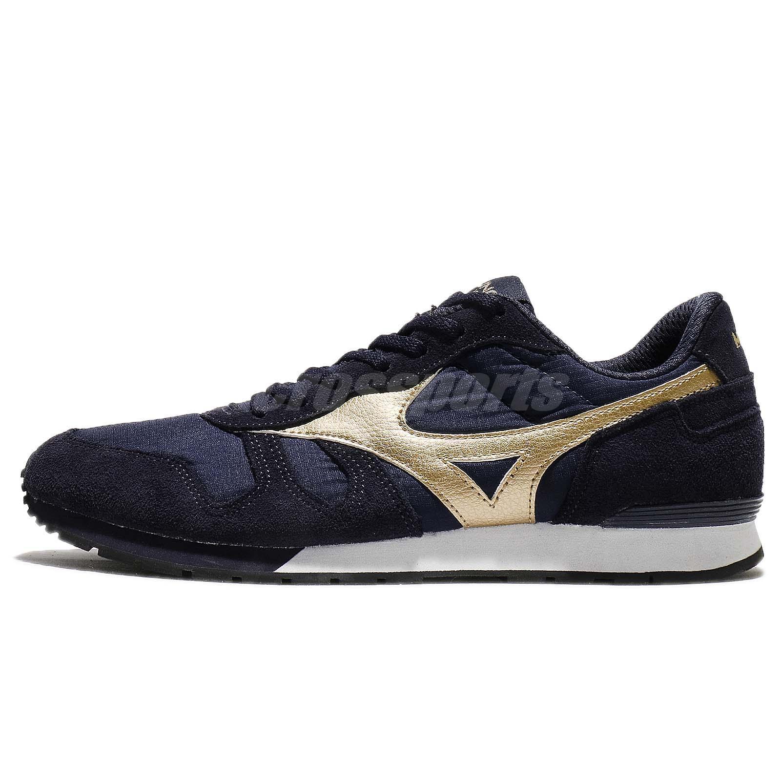 Mizuno Mizuno ML87 Navy Gold Men Lifestyle Running Shoes Sneakers D1GA1702-14 a3saJ