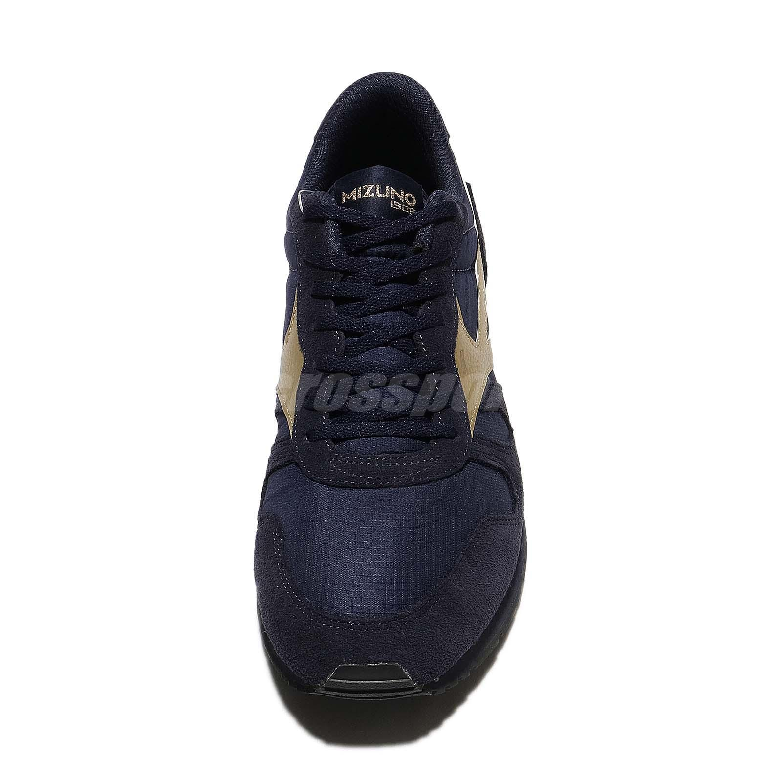 Mizuno Mizuno ML87 Navy Gold Men Lifestyle Running Shoes Sneakers D1GA1702-14 qkdPE