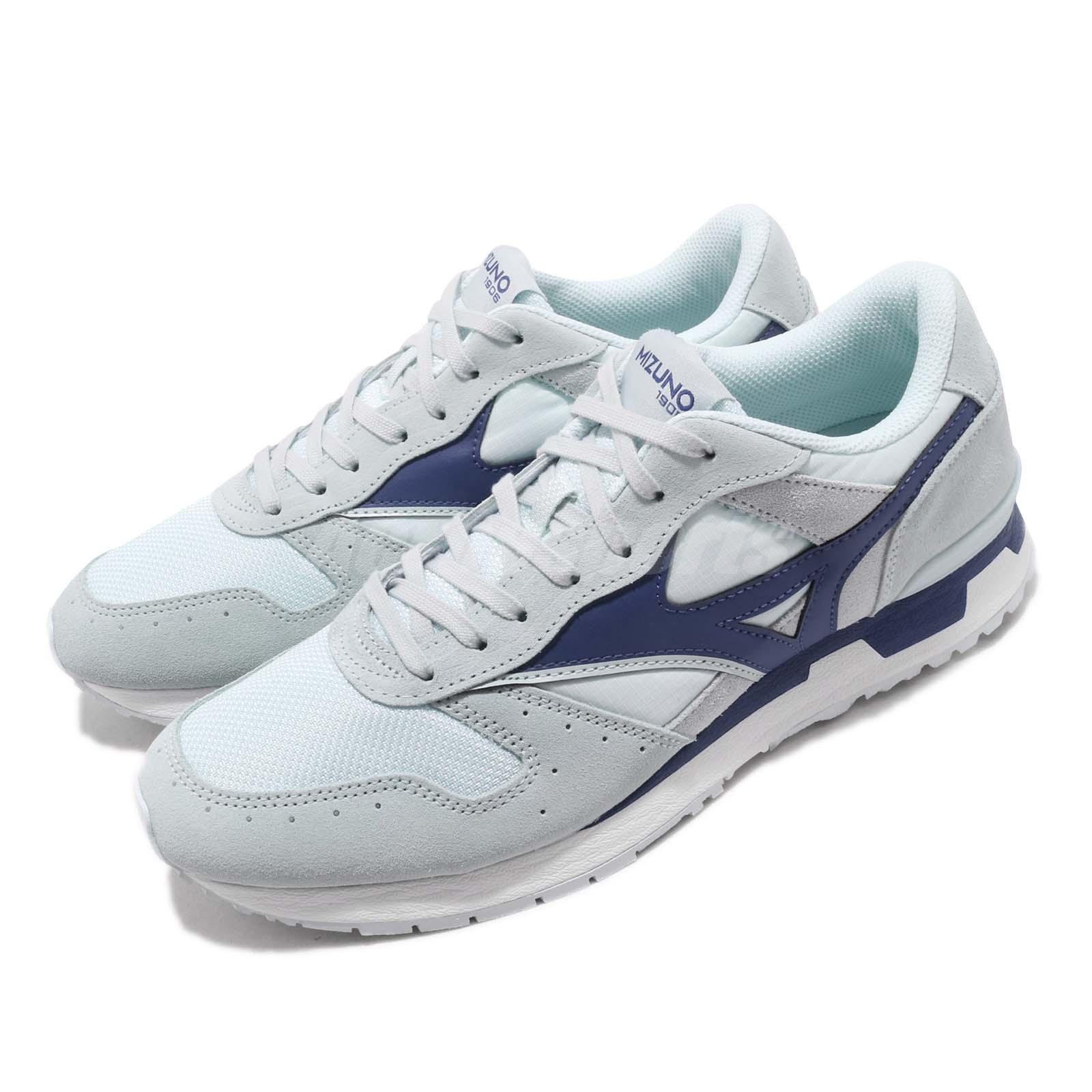 b422390f54 Details about Mizuno GV87 Navy Grey White Men Running Casual Shoes Sneakers  D1GA1908-25