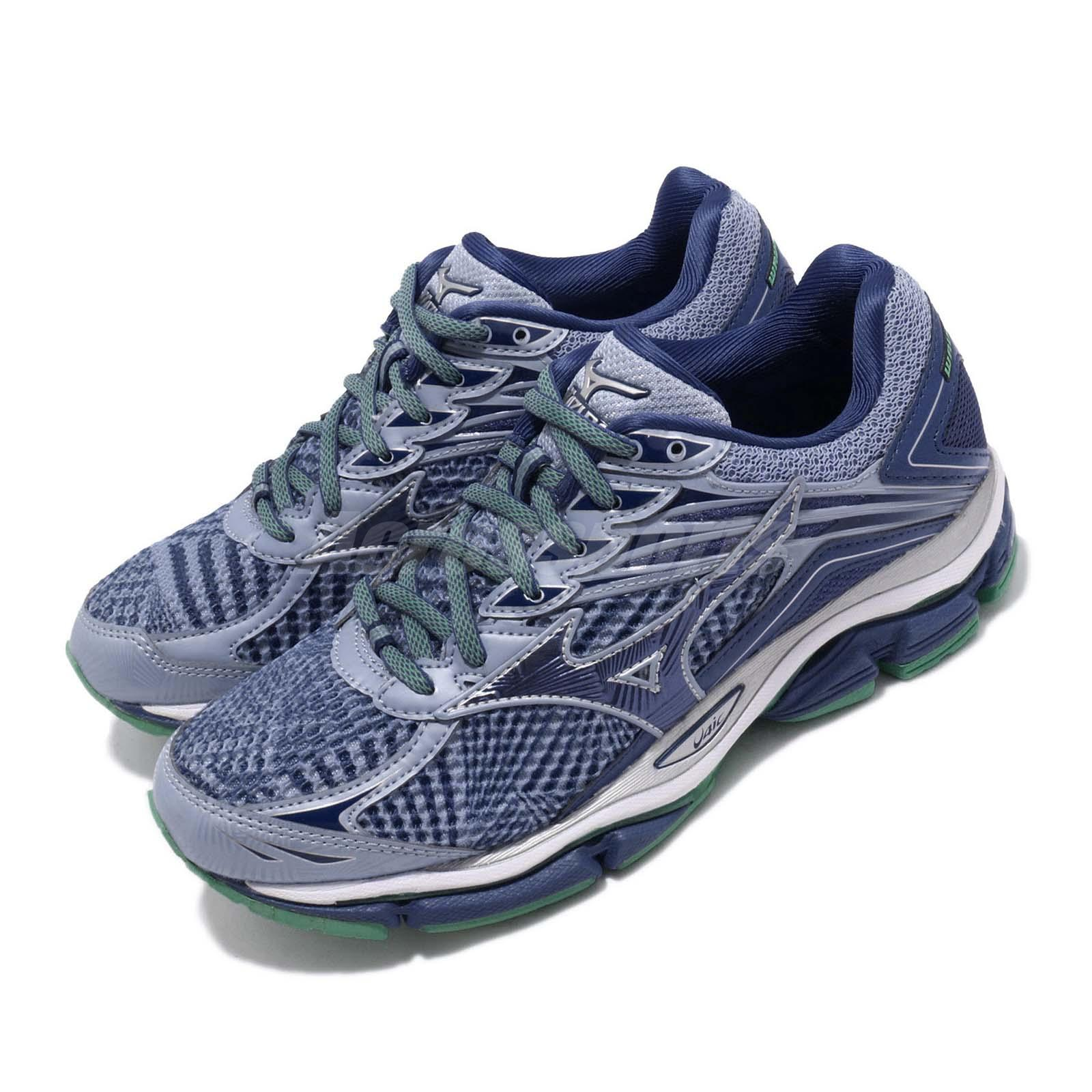 fotos oficiales 26bbd 8ce91 Details about Mizuno Wave Enigma 6 Purple Blue Green Women Running Shoes  Sneakers J1GD1611-27