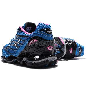timeless design 731fd 2302e ... where to buy mizuno wave prophecy 6 b014 blue pink black women running  shoes j1gd17 0003