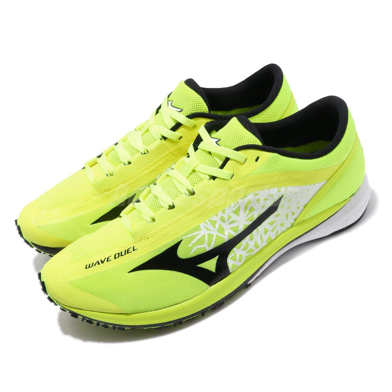 mizuno mens running shoes size 11 yellow youth