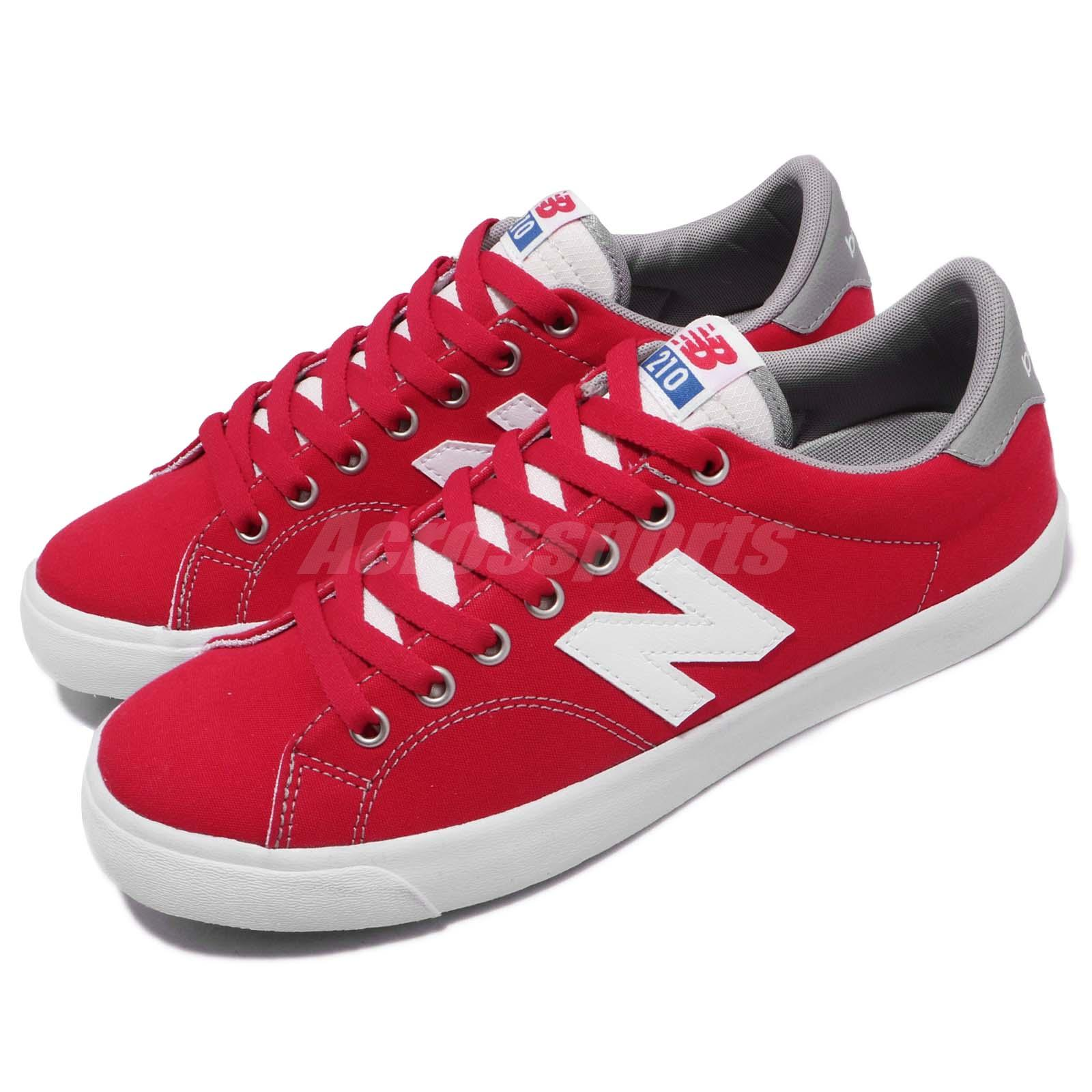 7e271f5aa9ba Details about New Balance AM210CRD D Red White Grey Blue Men Casual Shoes  Sneakers AM210CRDD