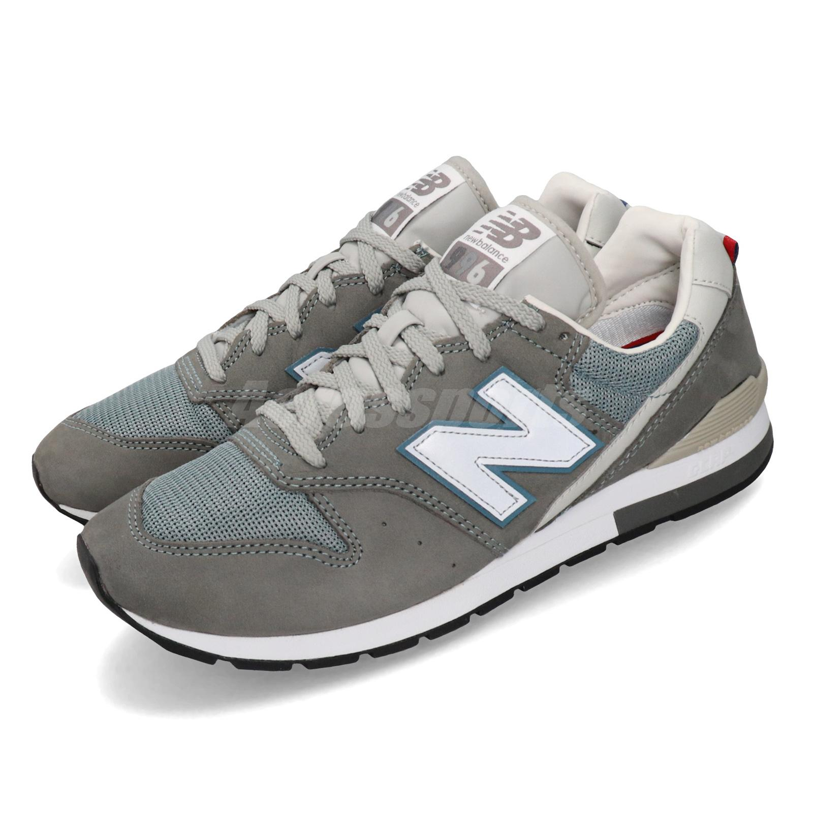 Dettagli su New Balance CM996CBA D Grey Blue Red Men Women Unisex Running Shoes CM996CBAD
