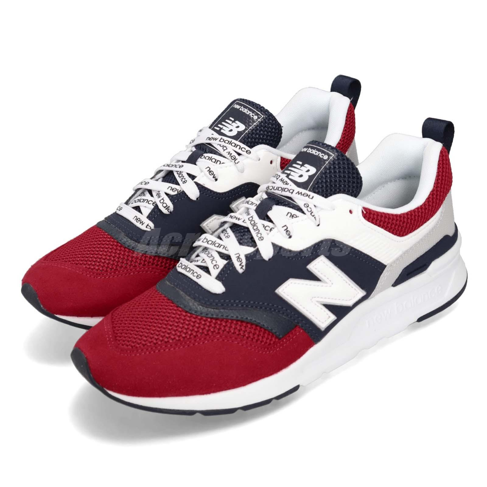 premium selection 76603 1b7f2 Details about New Balance CM997HEA D Red Navy White Men Running Casual  Shoes Sneaker CM997HEAD