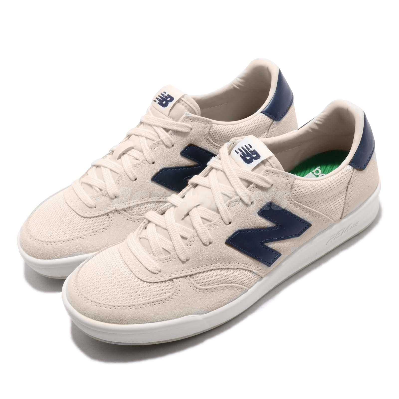 d3e57fc536f5f Details about New Balance CRT300WA D Beige Navy Suede Men Vintage Running  Shoes CRT300WAD
