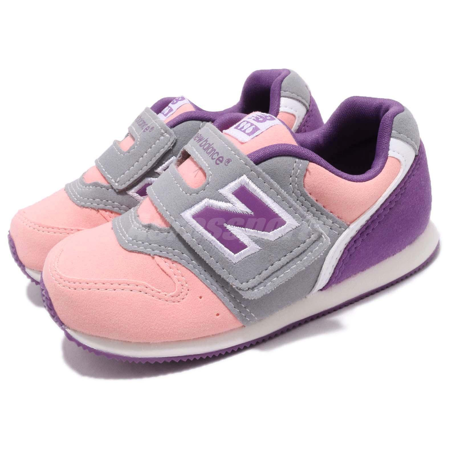 low priced 6f207 16a53 Details about New Balance FS996PP W Wide Pink Purple Grey TD Toddler Infant  Baby Shoe FS996PPW