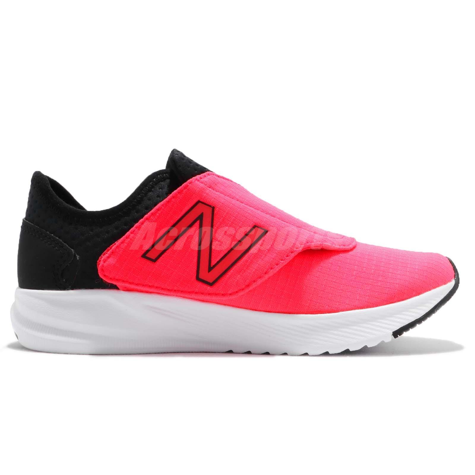 5adfa57f84619 New Balance KVFL5WPP W Wide Pink Black White Kid Preschool Shoes ...