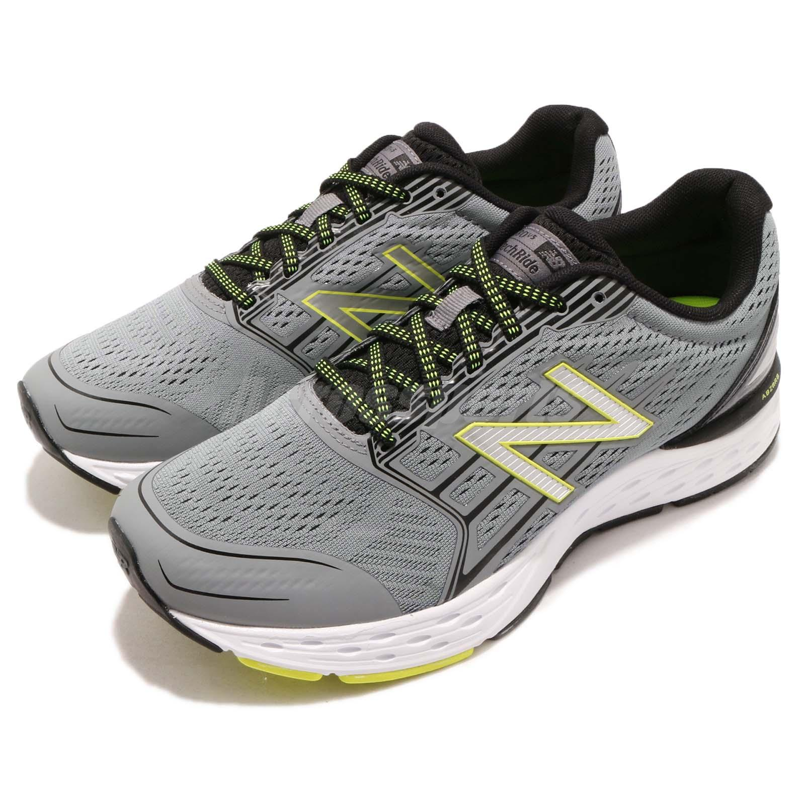 739409af05d80 Details about New Balance M680CG5 2E Wide Grey Volt White Men Running Shoes  Sneakers M680CG52E