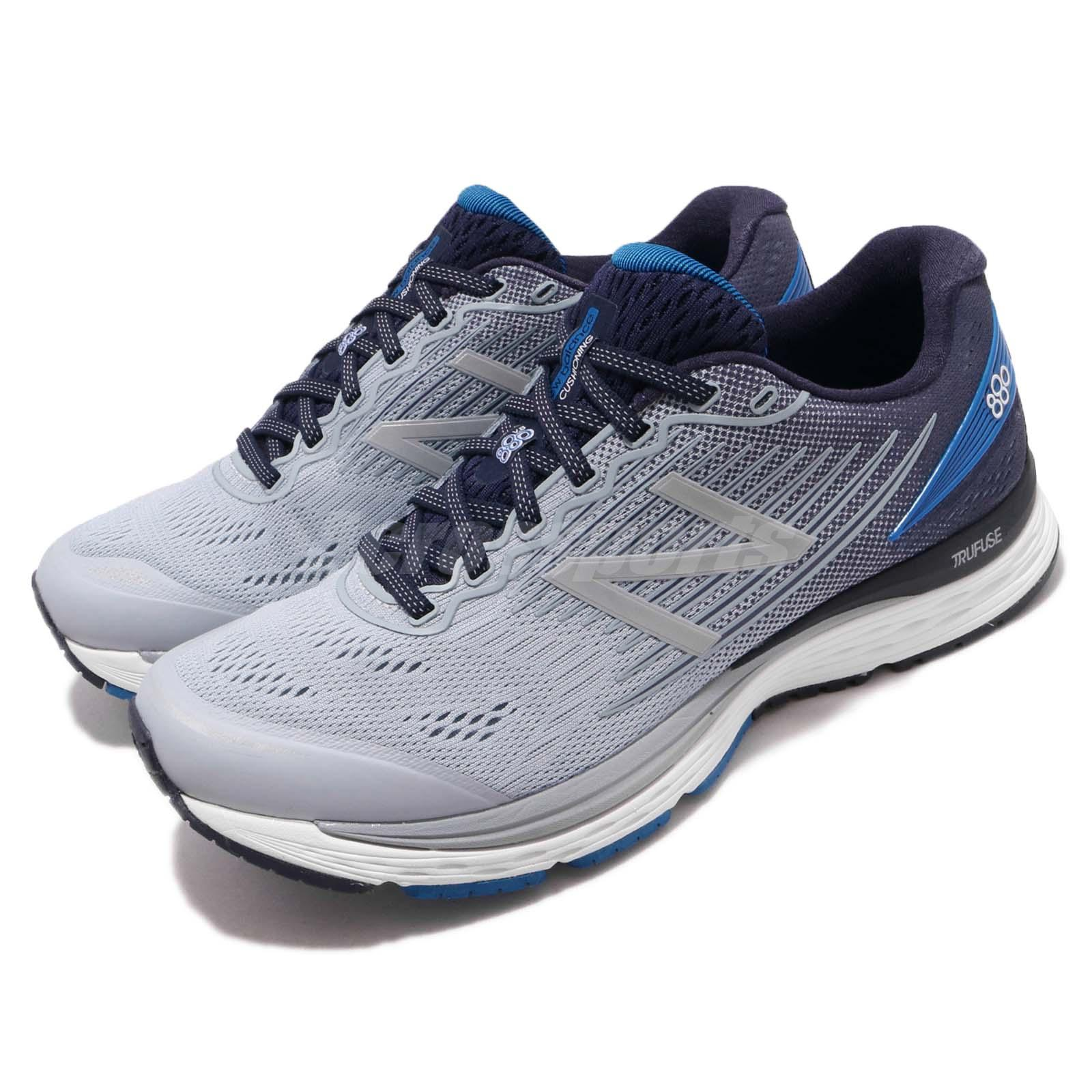 5d130f0e64dd8 Details about New Balance M880SB8 4E Extra Wide Grey Blue Men Running Shoes  Sneakers M880SB84E