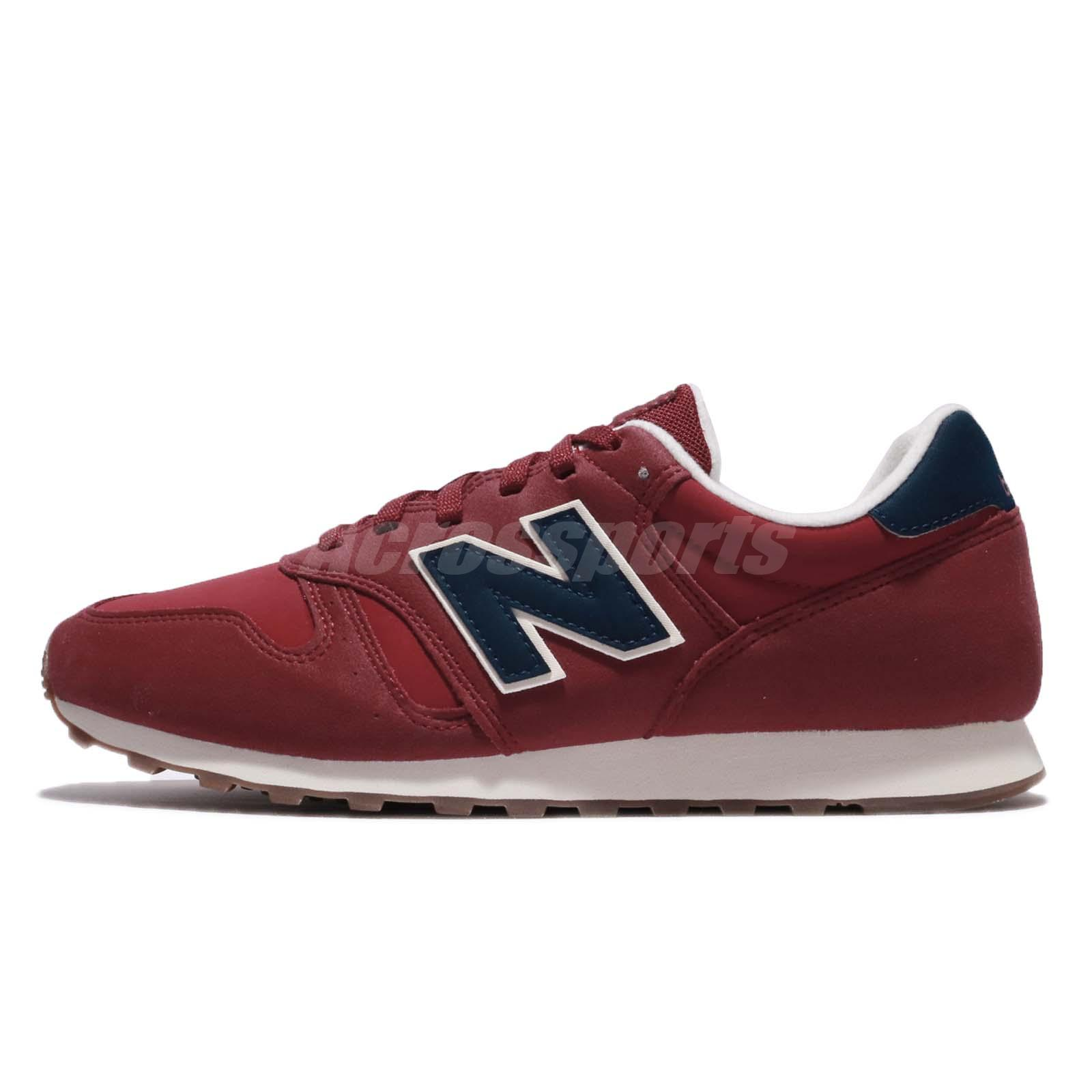 New Balance ML373RBS D 373 Dark Red Blue Men Running Shoes Sneakers ML373  RBSD