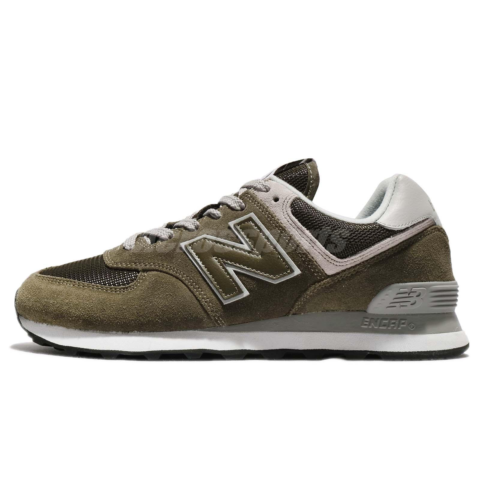 new concept aefad a4558 Details about New Balance ML574EGO D 574 Olive Grey Men Running Shoes  Sneakers ML574EGOD