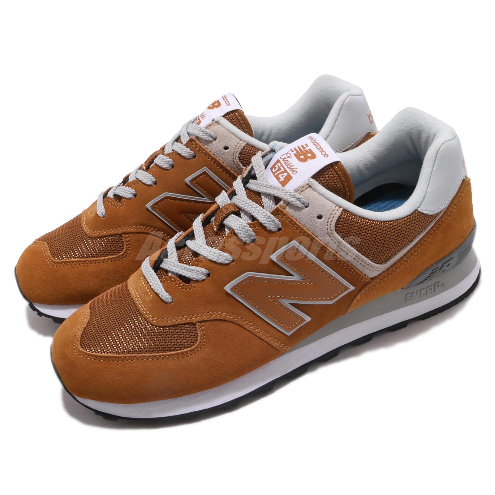 8d2a37329570b Details about New Balance ML574EPE D Brown Grey Men Running Casual Shoes  Sneakers ML574EPED