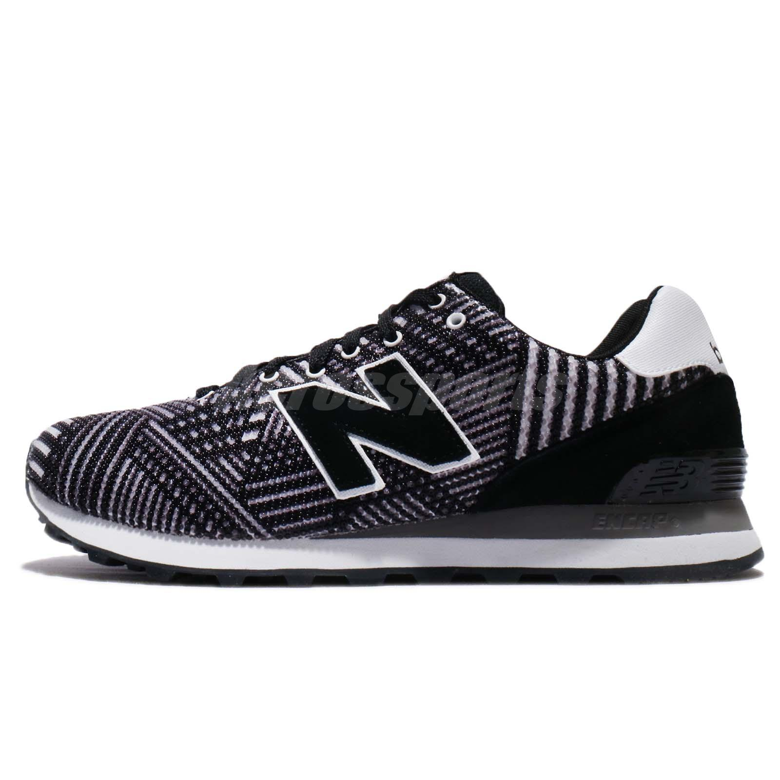 New Balance ML574TBO D 574 Black White Men Running Shoes Sneakers ML574TBOD