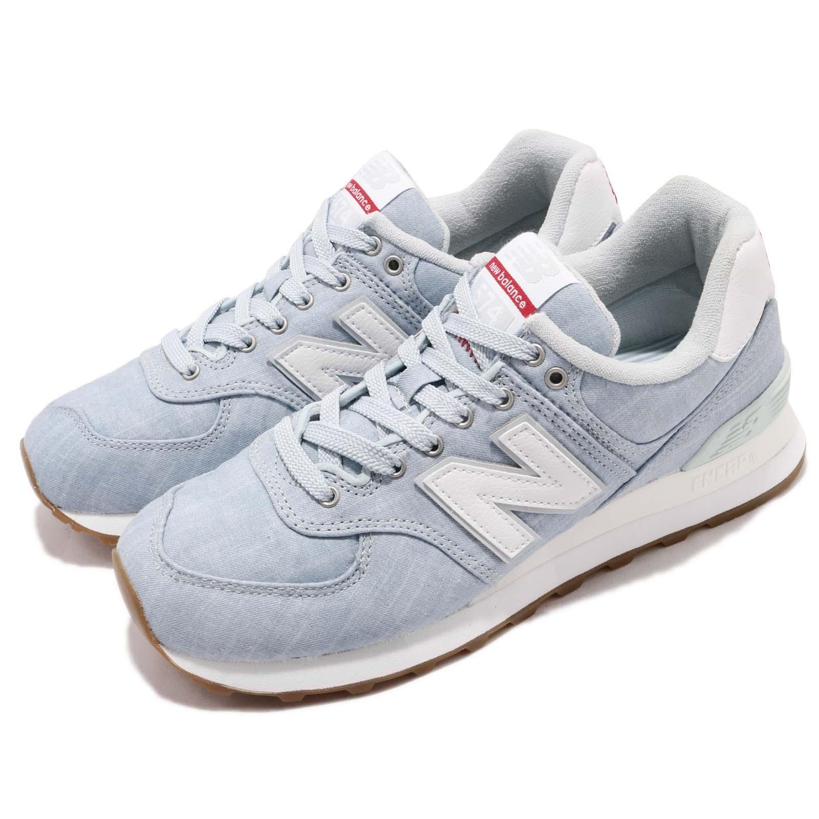 New Balance ML574YLF D Blue White Gum Men Running Shoes Sneakers ML574YLFD