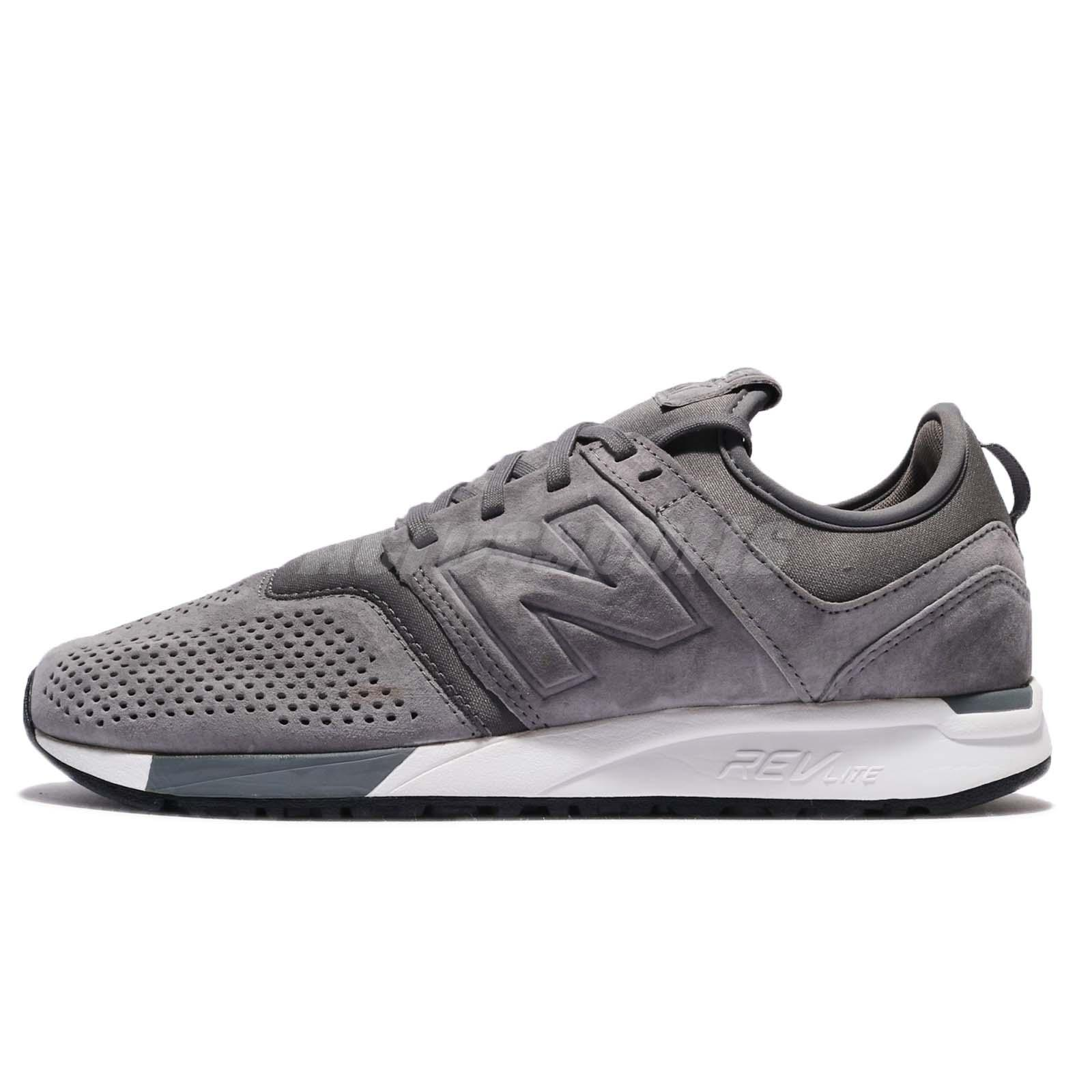 new balance 247 white. new balance mrl247ly d 247 grey white suede men running shoes sneakers mrl247lyd