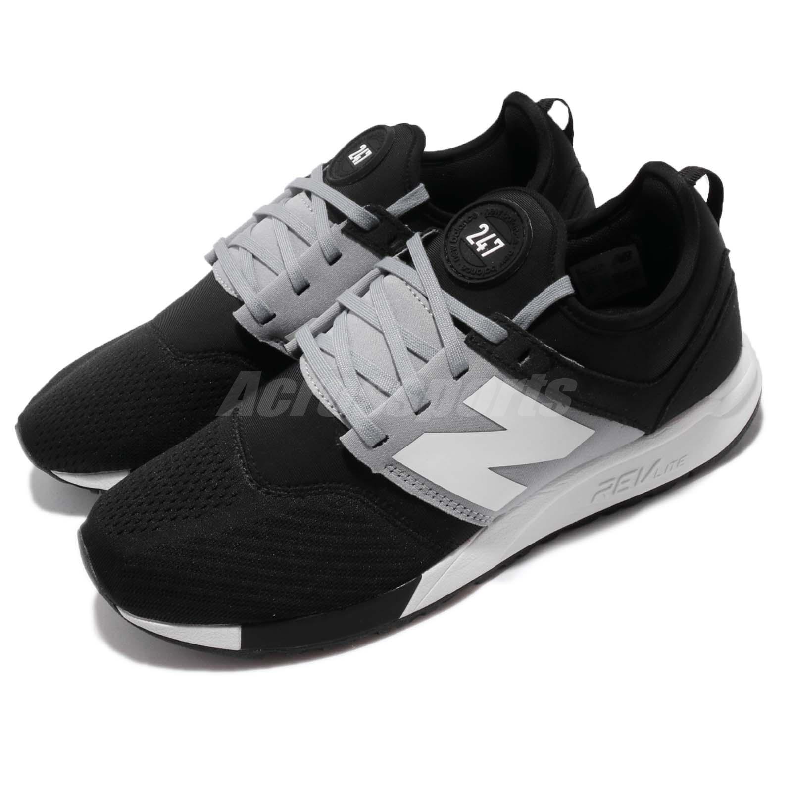 7e7ff4d40b083 Details about New Balance MRL247TD D Black Grey White Men Running Shoes  Sneakers MRL247TDD