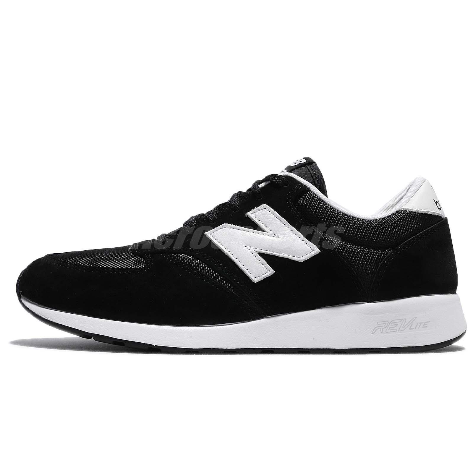 2aeedf80ed New Balance MRL420SZ D Black White Mens Running Shoes NB 420 RevLite  MRL420SZD