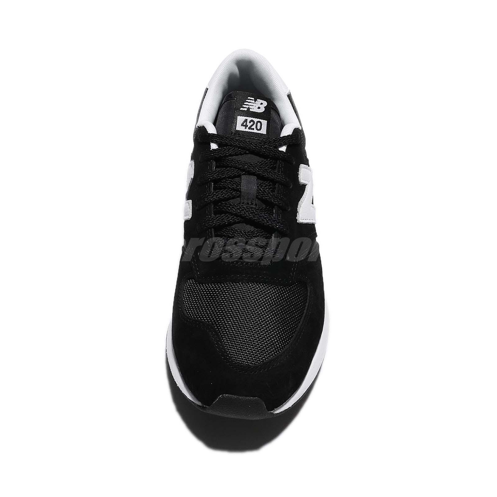 ff6dc1e64c New Balance MRL420SZ D Black White Mens Running Shoes NB 420 RevLite ...