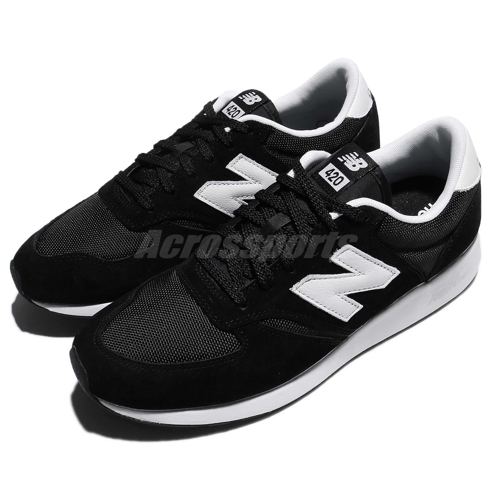 72aa09bbec Details about New Balance MRL420SZ D Black White Mens Running Shoes NB 420  RevLite MRL420SZD