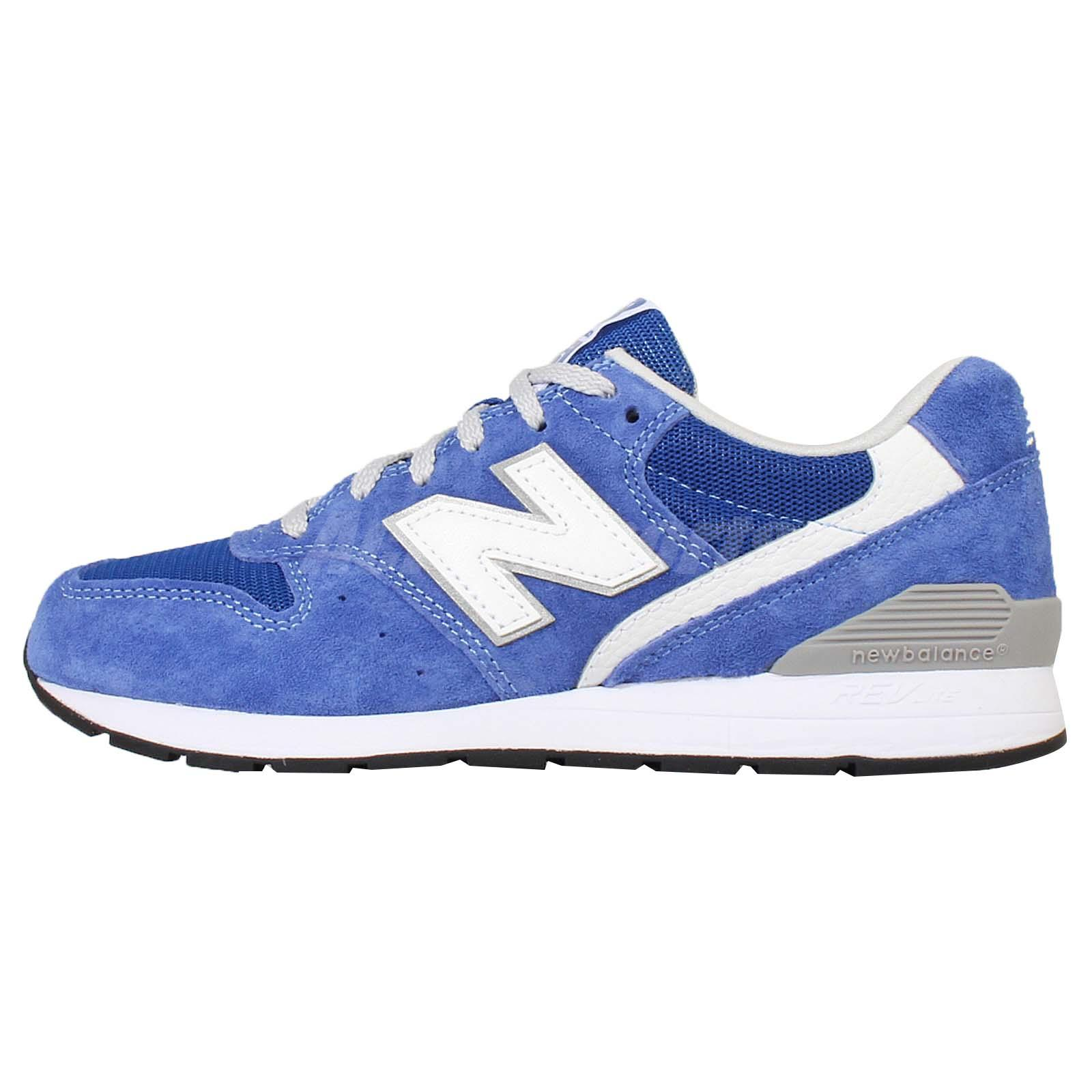 New Balance MRL996KC D Blue White Suede Mens Running Shoes Sneakers MRL996KCD