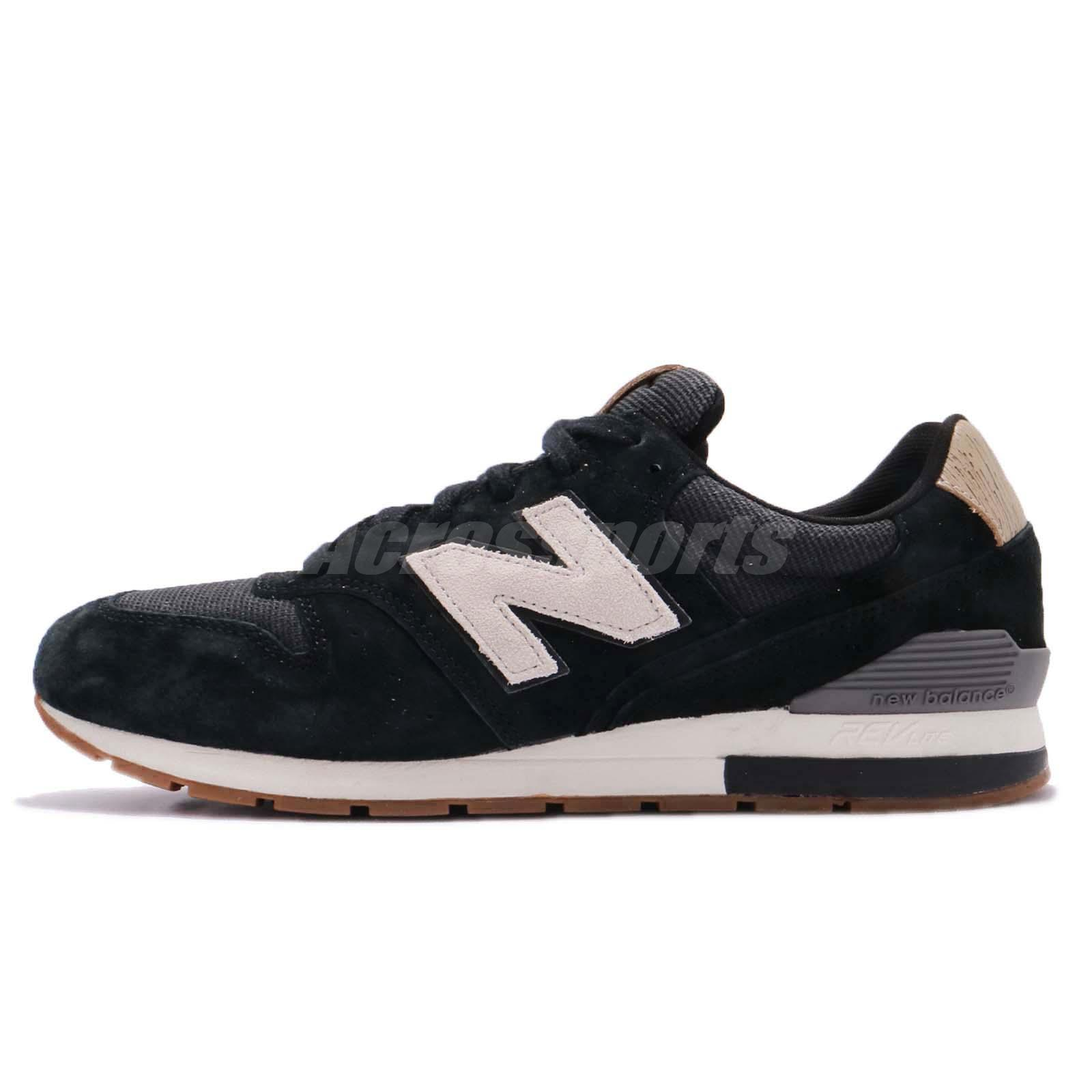 promo code 662bc bb806 Details about New Balance MRL996PA D 996 Black Grey Men Running Shoes  Sneakers MRL996PAD