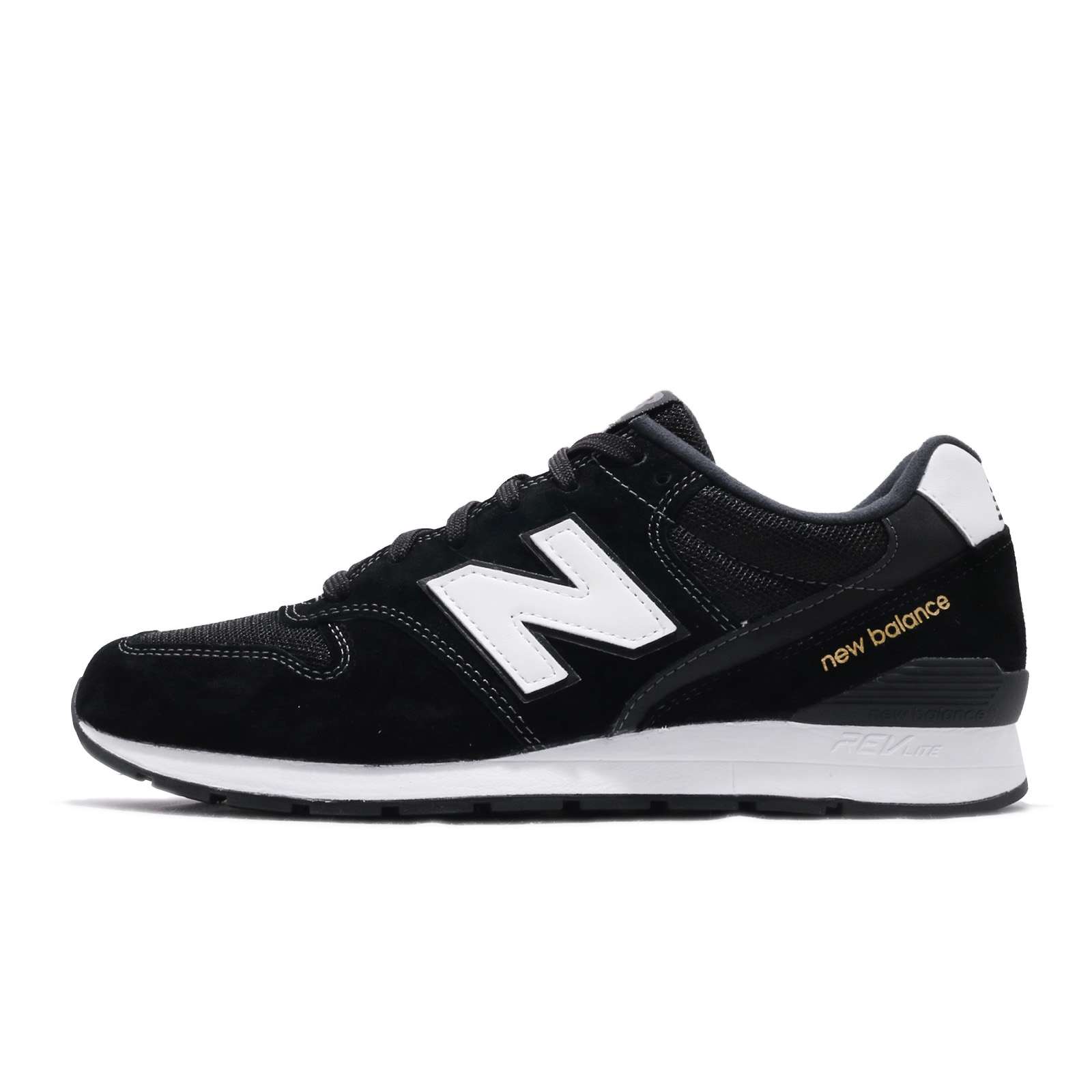 huge selection of c0b07 7e015 Details about New Balance MRL996PK D Black White Gold Men Running Shoes  Sneakers MRL996PKD