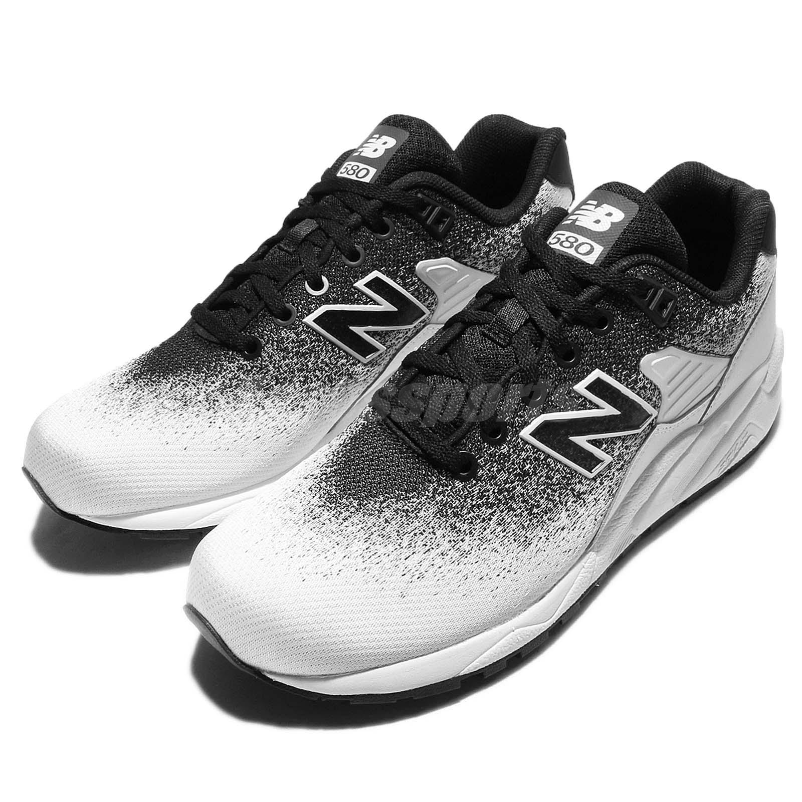 competitive price 4e575 69b14 Details about New Balance MRT580JR D Re-Engineered Jacquard White Mens  Running Shoes MRT580JRD