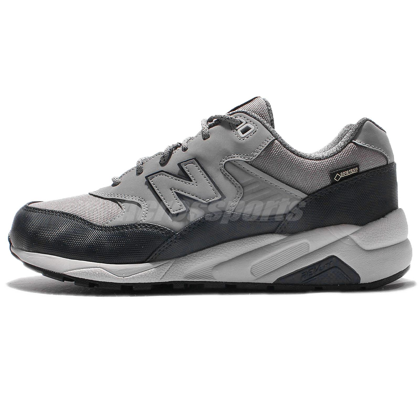 New Balance MRT580XF D Gore Tex Grey Navy Mens Running Shoes Sneakers MRT580 XFD
