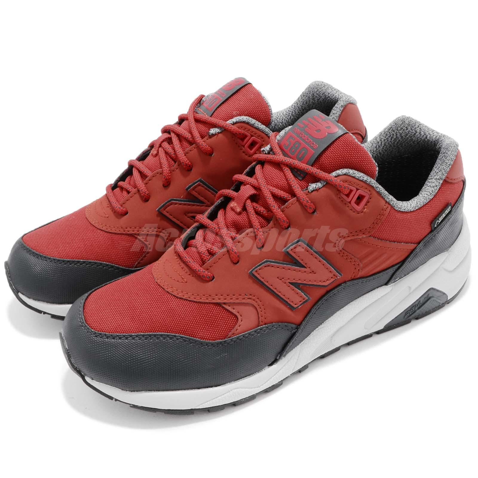 New Balance Tier 2 MRT580 Gore Tex Red Black Men Running Shoe Sneakers MRT580XRD