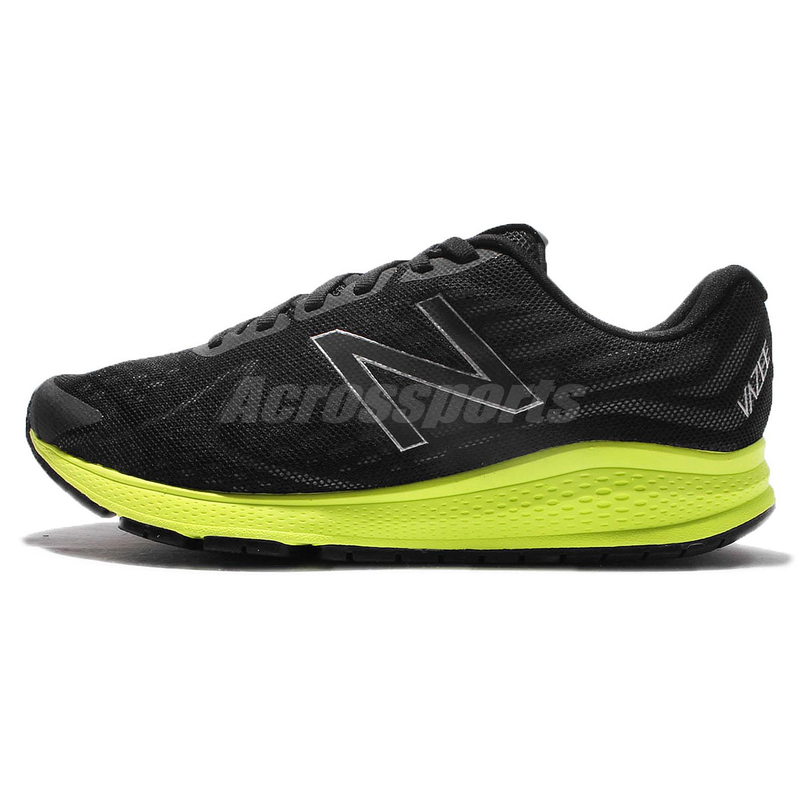 New Balance MRUSHBY2 2E Wide Vazee Rush v2 Black Yellow Mens Running MRUSHBY22E
