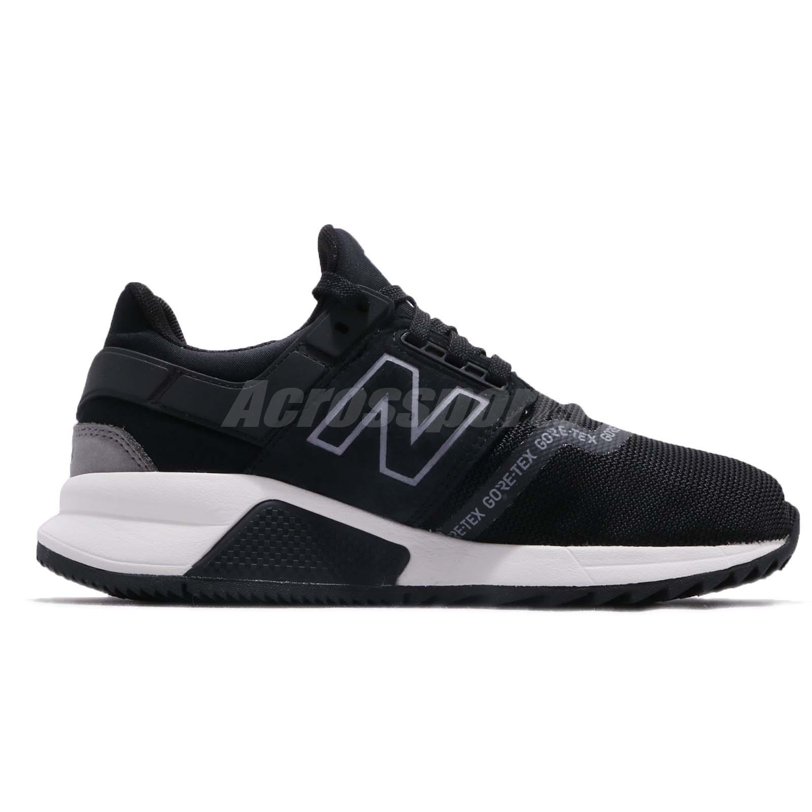New Balance MS247GTX D Gore-Tex Black Grey Men Running Shoes ... 3926de91642