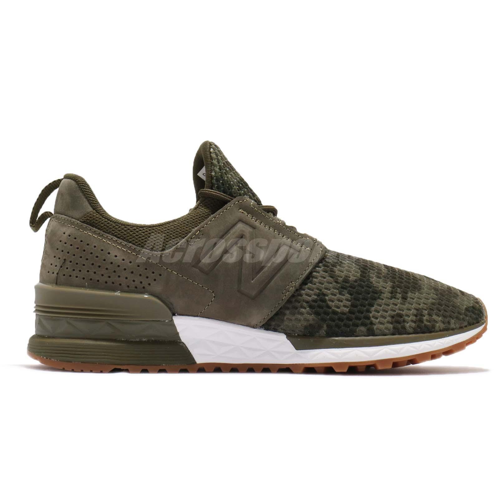 klasyczne style autoryzowana strona brak podatku od sprzedaży Details about New Balance MS574DCG D Green Camo White Gum Men Running Shoes  Sneakers MS574DCGD