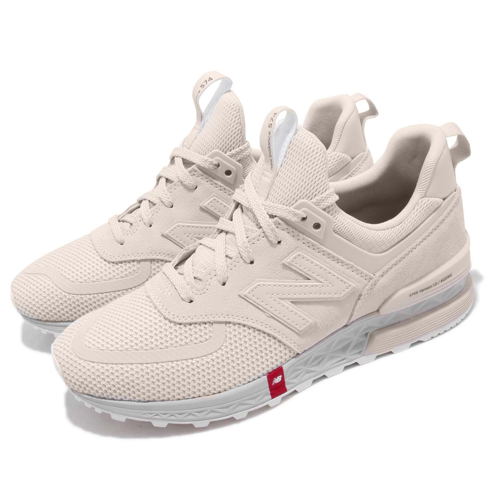 new style dcbf2 783a0 Details about New Balance MS574UTS D Beige Grey Red Men Running Shoes  Sneakers MS574UTSD