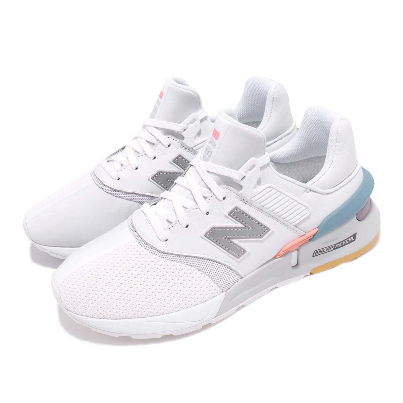 3177a00980fe0 Details about New Balance MS997XTC D White Blue Grey Men Running Shoes  Sneakers MS997XTCD