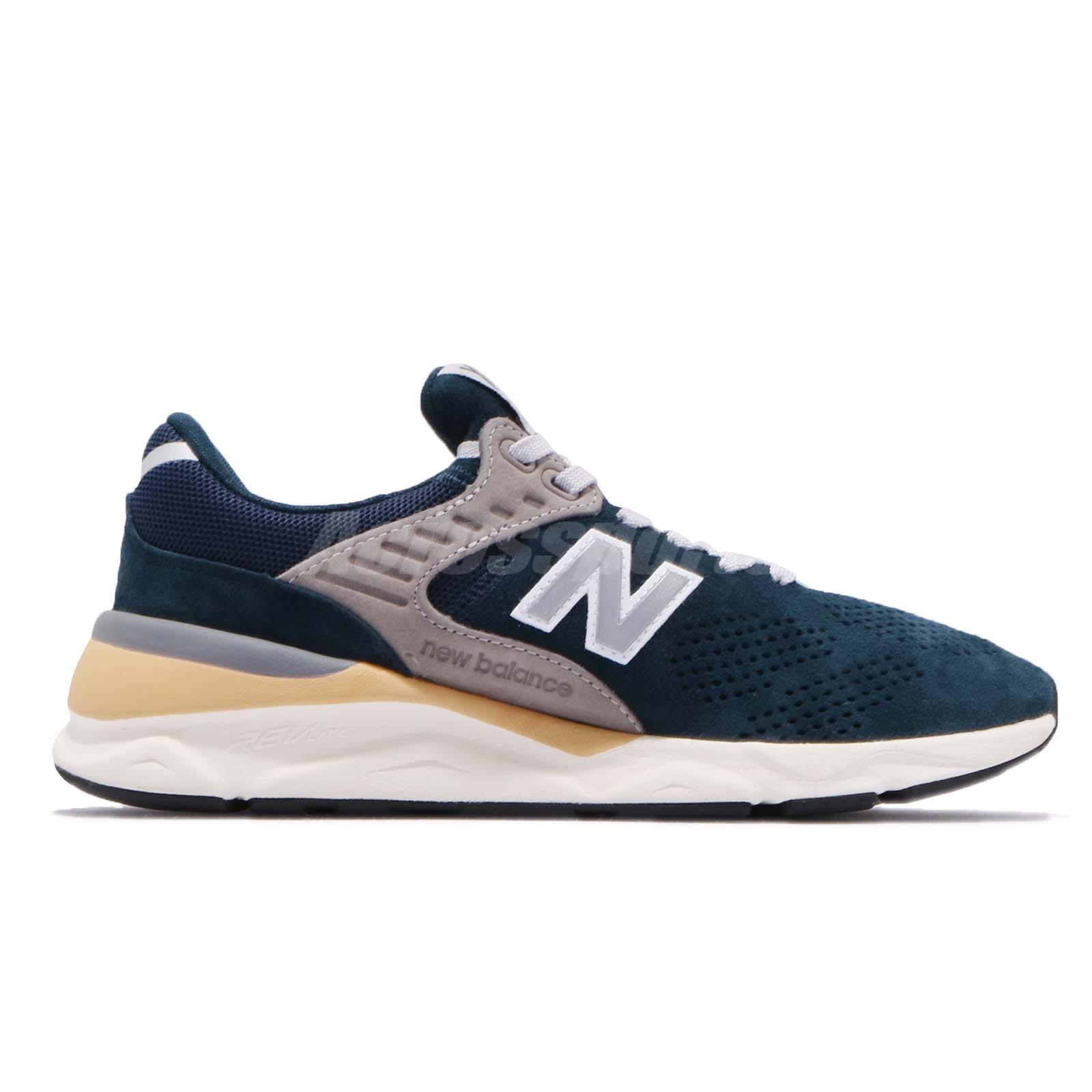New Balance MSX90PNA D Blue Silver White Men Running Shoes Sneakers ... fea905191cab7