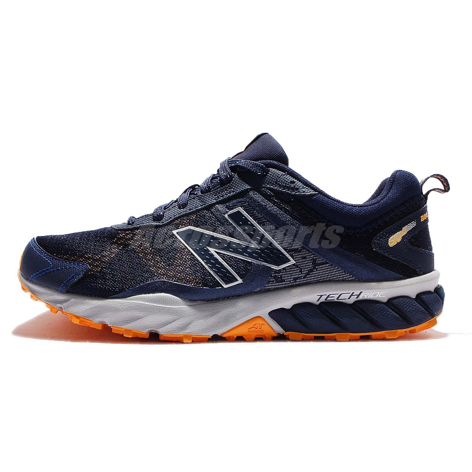New Balance MT610RN5 2E Wide 610v5 Grey Navy Men Trail