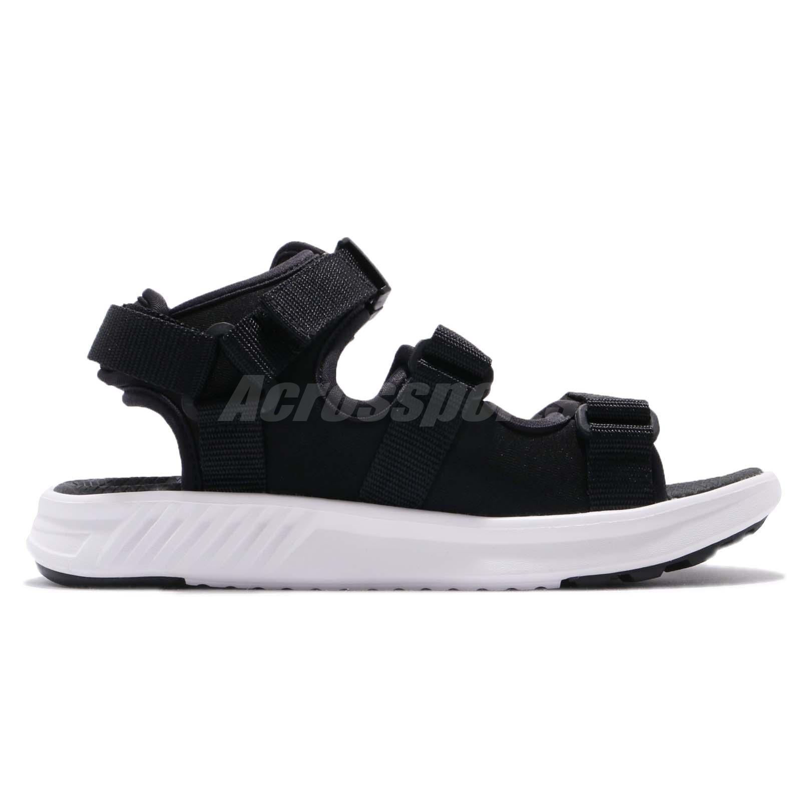 fe5c41cd1497f9 New Balance SD750BK D Black White Men Women One Click Sandal ...