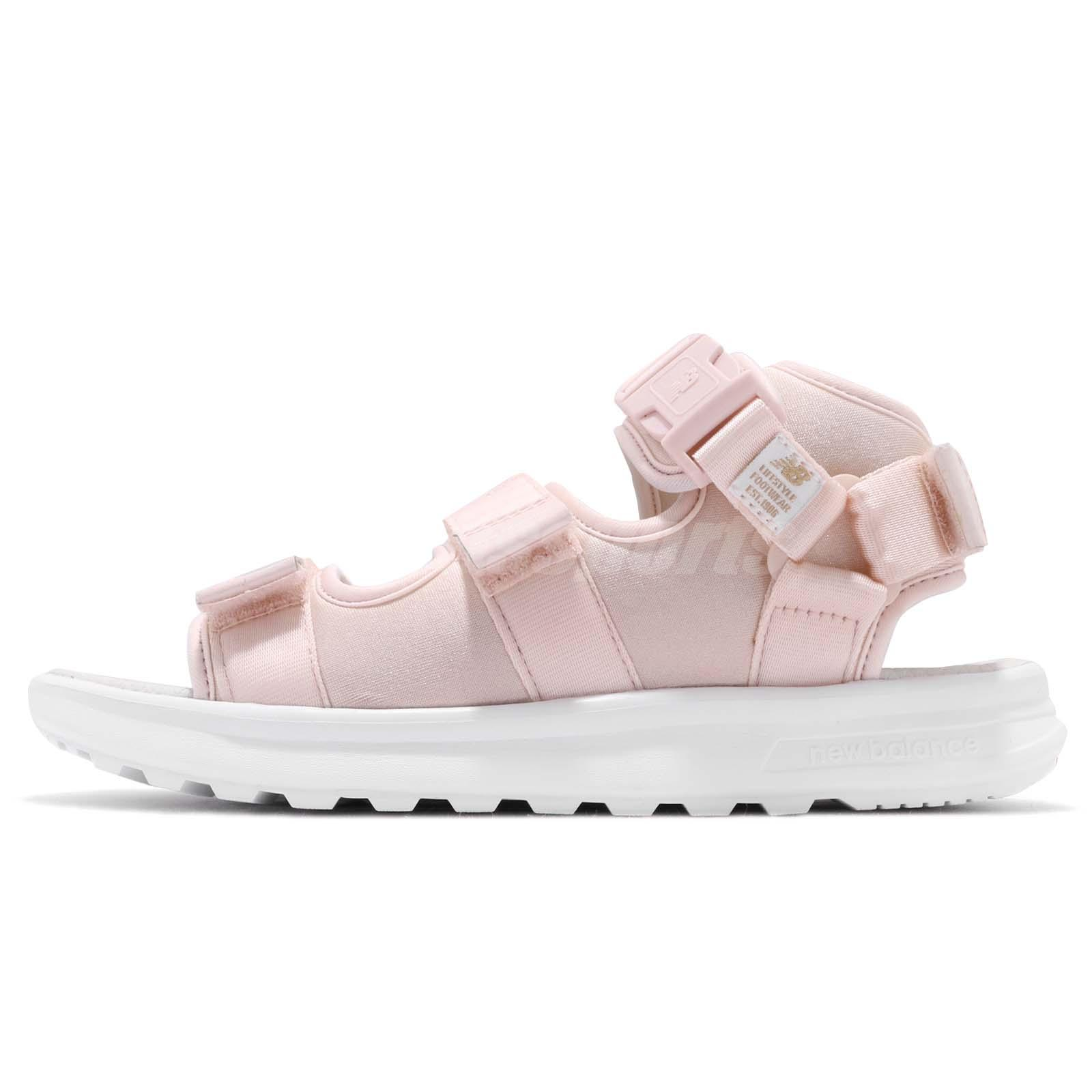 New Balance SD750PP D Pink White Men Women One Click Sandal Shoes SD750PPD