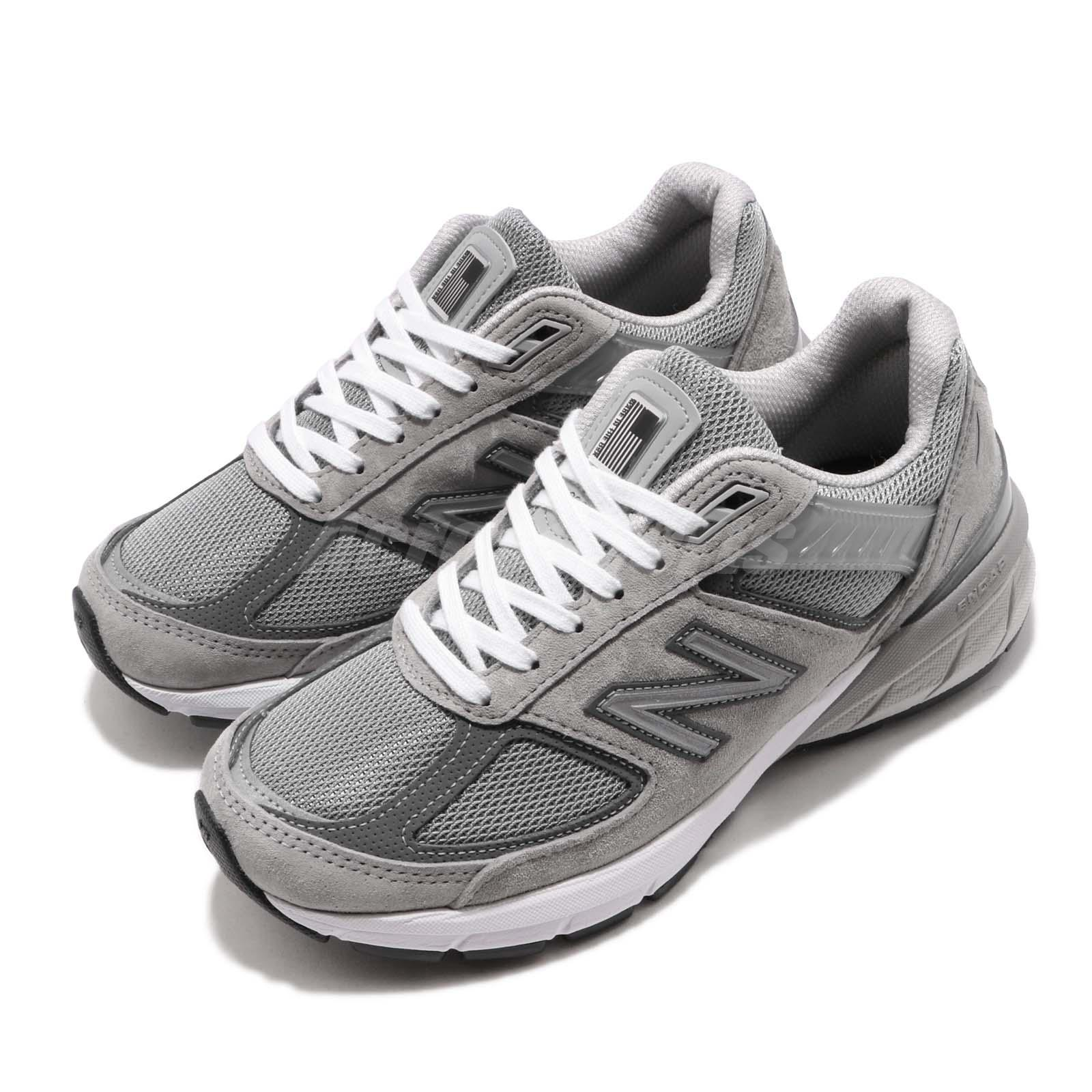 newest e5daf 25438 Details about New Balance W990GL5 D Wide 990 V5 Grey Womens Running Shoes  W990GL5D